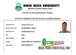 TESTIMONIALS : POST UTME Proves |Admission letter success from candidates